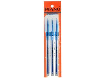 Набор ручек PT-1157 oil ink 0.7mm 3шт, синих