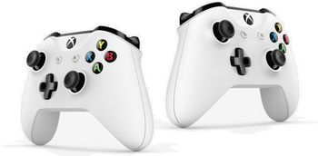 купить Microsoft Controller Xbox One S, White в Кишинёве