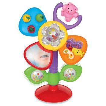 купить Kiddieland Развивающая игрушка на присоске Цветик рус в Кишинёве