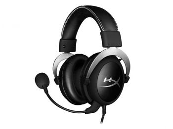 Kingston HyperX Cloud X Headset, Silver, Official Xbox licensed headset, Solid aluminium build, Microphone: detachable, Frequency response: 15Hz–25,000 Hz, Cable length:1m+2m extension, 3.5 jack, Pure Hi-Fi capable, Braided cable, Hard-shell case