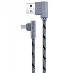 купить Awei Lightning cable, CL-91 (de 90-grade), Gray в Кишинёве