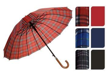 Зонт-трость, автомат, D105 cm, однотонный