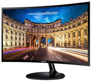 "купить ""27.0"""" SAMSUNG """"C27F390FHI"""", G.Black/Blue (Curved-VA 1920x1080, 4ms, 250cd, LED Mega-DCR, HDMI) (27.0"""" Curved-VA W-LED, 1920x1080 Full-HD, 0.311mm, 4ms (GtG), 250 cd/m², Mega ∞ DCR (1000:1), 16.7M, 178°/178° @CR>10, D-Sub + HDMI, HDMI Audio-In : Headphone-Out, External Power Adapter, Fixed Stand T-Sape (Tilt -2/+15°), Magicbright, Magicupscale, Eco saving plus, Eye saver mode, Flicker free, Game mode,  Glossy-Black )"" в Кишинёве"