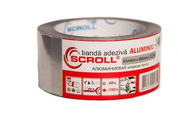 Алюминиевая клейкая лента SCROLL