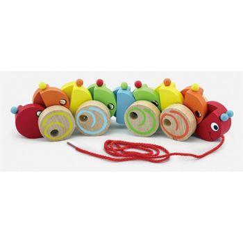 купить Viga Деревянная игрушка Гусеница в Кишинёве