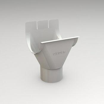 купить Воротничок (125/87mm) RAL-9003 в Кишинёве