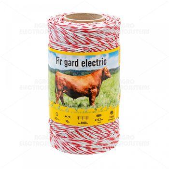 Проволока электрического ограждения – 250 м – 95 кг – 0,5 Ω/m