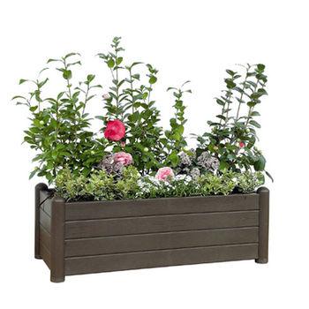 cumpără Ghiveci Italia pentru flori, dreptunghiular 1000x430x350 mm, maro în Chișinău