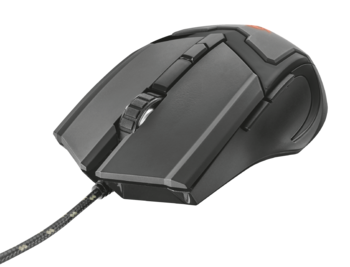 Mouse Trust GXT 101 Gav Gaming, Black