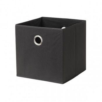 купить Бокс для хранения Boon 320x320x320 мм,  черный в Кишинёве