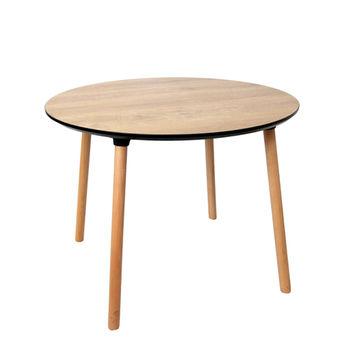 купить Стол с деревянной поверхностью и деревянными ножками, 1000x750 мм, деревянный в Кишинёве