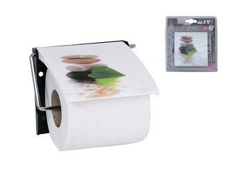Держатель для туалетной бумаги с крышкой Lingga