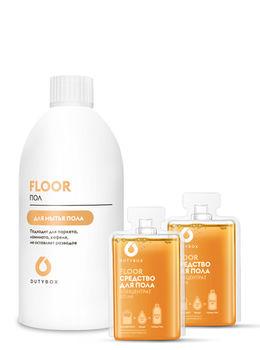 DutyBox Floor Set – Curațător pentru pardoseală cu aromă de grapefruit
