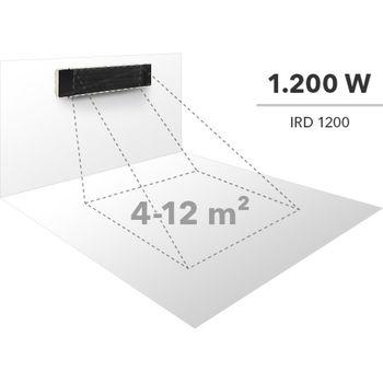 купить Темный инфракрасный радиатор TROTEC IRD 1200 в Кишинёве