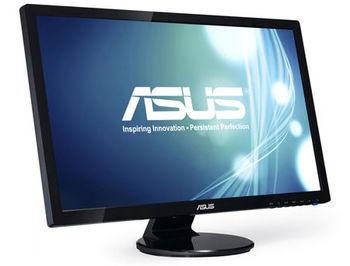 """Монитор 27"""" TFT LED ASUS VE278N Glossy Black WIDE 16:9, 0.311, 5ms, ASUS Smart Contrast 50,000,000:1, H:24-83kHz, V:50-75Hz,1920x1080 Full HD, D-Sub, DVI, TCO03 (monitor/монитор), www"""
