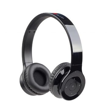 "Gembird BHP-BER-BK  ""Berlin"", Bluetooth Stereo Headphones with built-in Microphone, Bluetooth v.3.0 + EDR, up to 250 hours of standby & 10 hours of listening time, distance: up to 10 m, Rechargeable 320mAh Li-ion battery, multifunction button"