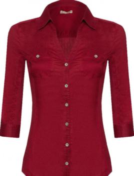 Блуза ORSAY Темно красный