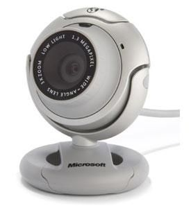 Camera Microsoft VX-6000 Life-Cam Microphone, 1.3 mpix video, 5mpixel photo,1280x1024