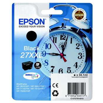 купить Ink Cartridge Epson T27144022, 27XL DURABrite Ultra Ink, yellow в Кишинёве