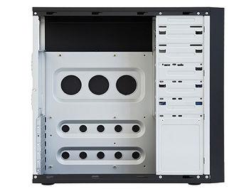 Case ATX Miditower Chieftec Mesh CQ-01B-U3-OP Black no PSU, 2xUSB 3.0, Mic-in, Audio-out (carcasa/корпус)