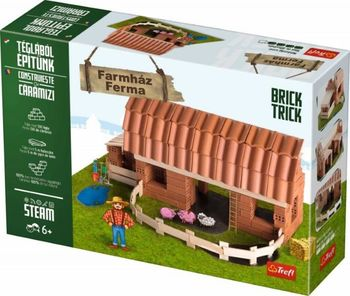 """Конструктор керамический Brick Trick """"Farm"""", код 42229"""