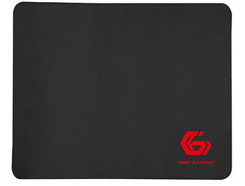 Gembird Mouse pad MP-GAME-S, Gaming, Dimensions: 200 x 250 x 3 mm, Material: natural rubber foam + fabric, Black
