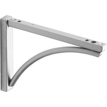 купить Кронштейн для полки Bridge 195x125 мм, серебряный в Кишинёве