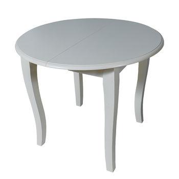 Раздвижной стол T449E 0,9 м - 1,2 м слоновая кость
