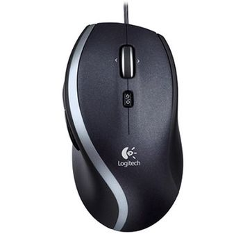 Logitech Mouse M500 Black, Optical Mouse, Invisible laser, Hyper-fast scroll wheel, Retail