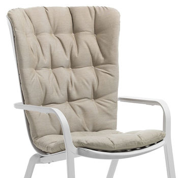 Подушка Nardi CUSCINO FOLIO COMFORT lino 36300.01.152 для кресла Nardi FOLIO (Подушка для кресла)