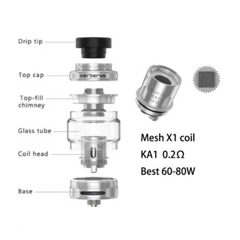купить Geekvape Aegis X 200W Kit with Cerberus Tank в Кишинёве