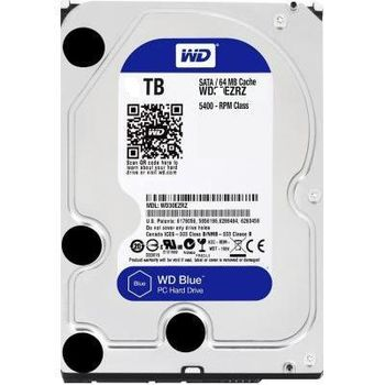 "1TB HDD 3.5"" Western Digital WD10EZEX, Caviar® Blue™, 7200rpm, 64Mb, SATA3 (6GB/s)"