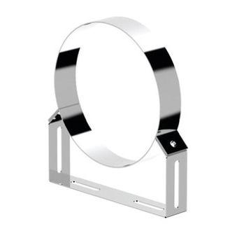 купить Ø180 Хомут нержавеющий настенный телескопический (inox 304) в Кишинёве