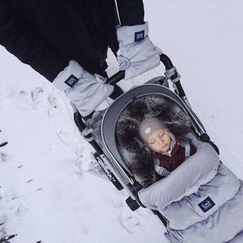 купить Конверт в коляску Aspen Bag Uni Grey La Millou в Кишинёве