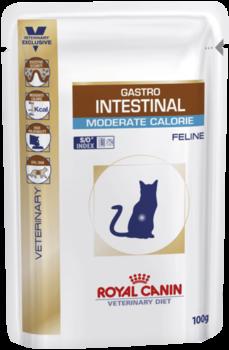купить Royal Canin GASTRO INTESTINAL MODERATE CALORIE 100 gr в Кишинёве