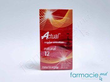 купить Prezervative Actual N12 Natural(TVA8%) в Кишинёве