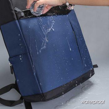 """купить Pюкзак Aoking SN77282-10 для ноутбука 16"""", водонепроницаемый, тёмно-cиний в Кишинёве"""