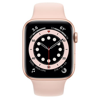 Apple Watch 6 44mm (M00E3), Gold / Pink Sand