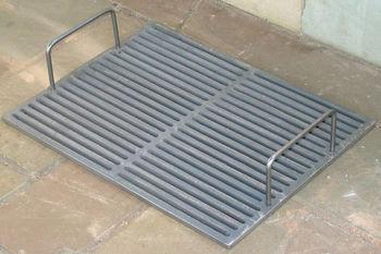 Решетка чугунная для гриля (510x385 мм)