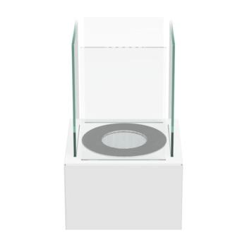 Биокамин - TANGO 1 белый настольный/напольный