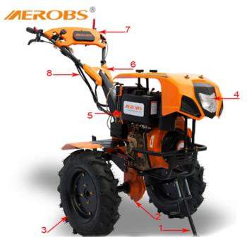cumpără AEROBS BSD 1350DE Diesel 10.0 c.p. în Chișinău