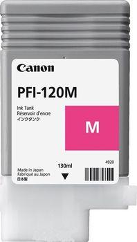 Canon Ink Tank PFI-120 Magenta EMEA , 200ml for Canon imagePROGRAF TM-200, TM-205, TM-300, TM-305