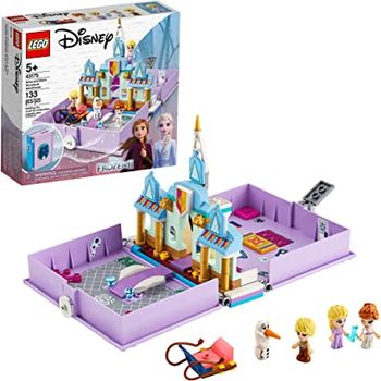 LEGO Disney Книга сказочных приключений Анны и Эльзы, арт. 43175