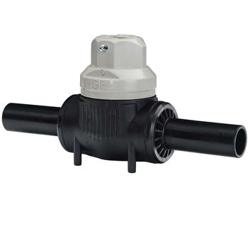 купить Кран Stop-Offvalve Poly PE100 DN110 (DN100) с телескопическим штоком 10 bar Gas / 16 bar Water +GF+ в Кишинёве