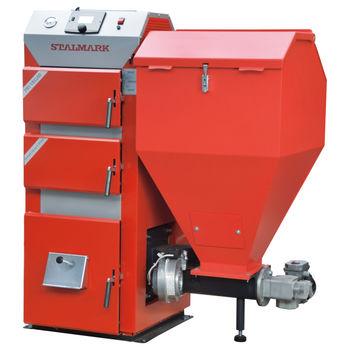 Твердотопливный котёл Stalmark PID VEGAS 50 kW