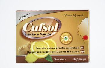 Cufsol lamaie si ghimbir comp. de supt №12