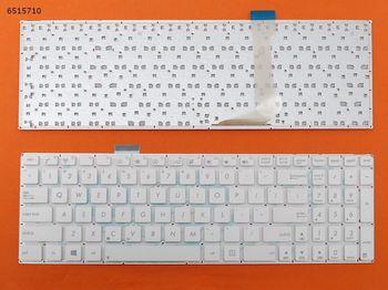 "Keyboard Asus E502 E502S E502M E502MA E502SA E502NA w/o frame ""ENTER""-small ENG/RU White"