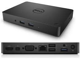 Dell USB Type-C Dock WD15 with 180W Adapter - 1*HDMI, 1*miniDP, 1*VGA, 1*RJ-45, 2*USB 2.0, 3*USB 3.0