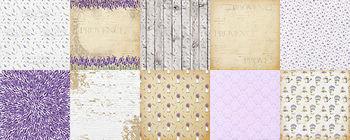 Набор двухсторонней бумаги  от Фабрики Декора, 30,5х30.5 см, 10 листов
