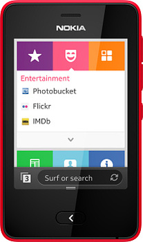 Nokia Asha 501 Red